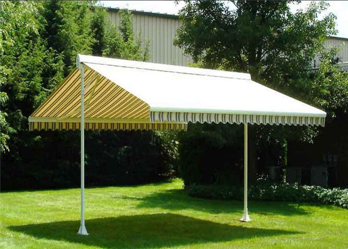 Motorized Free Standing Retractable Awning/Outdoor Double ...