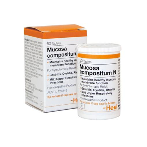 Heel Mucosa Compositum Tablets Qty 50
