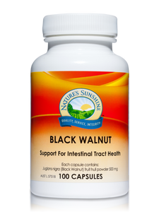 Nature's Sunshine Black Walnut Capsules Qty 100