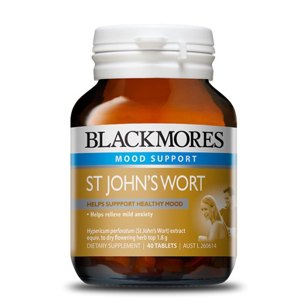 Blackmores St Johns Wort Tablets Qty 90