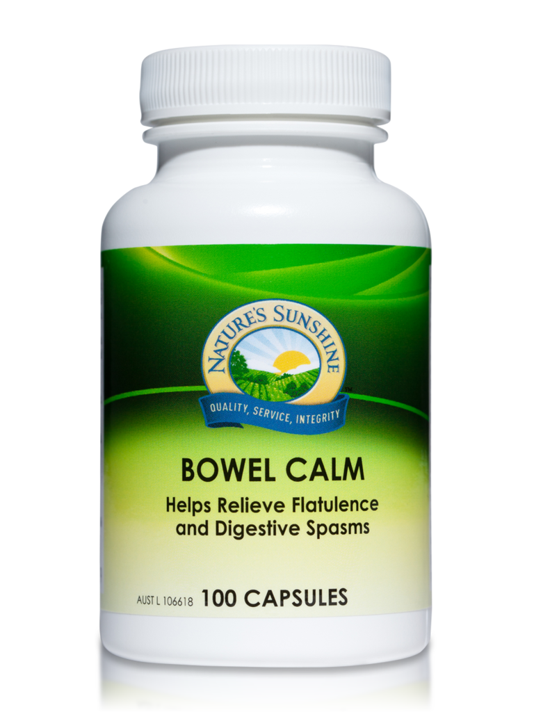 Nature's Sunshine Bowel Calm Capsules Qty 100