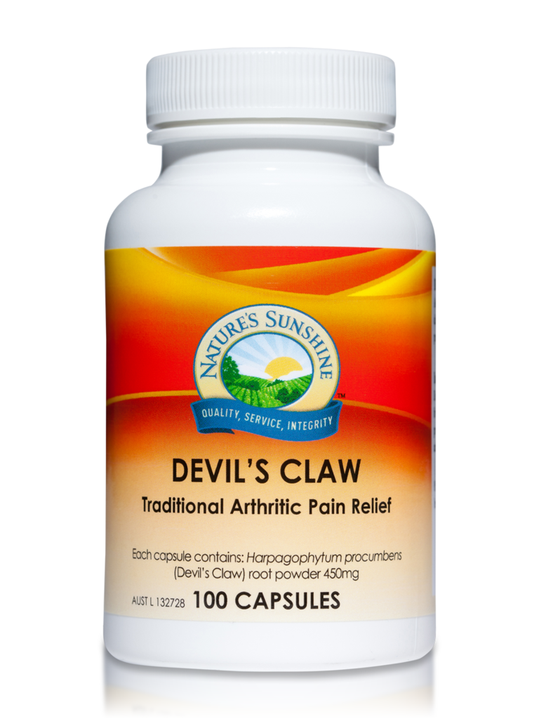 Nature's Sunshine Devil's Claw Capsules Qty 100