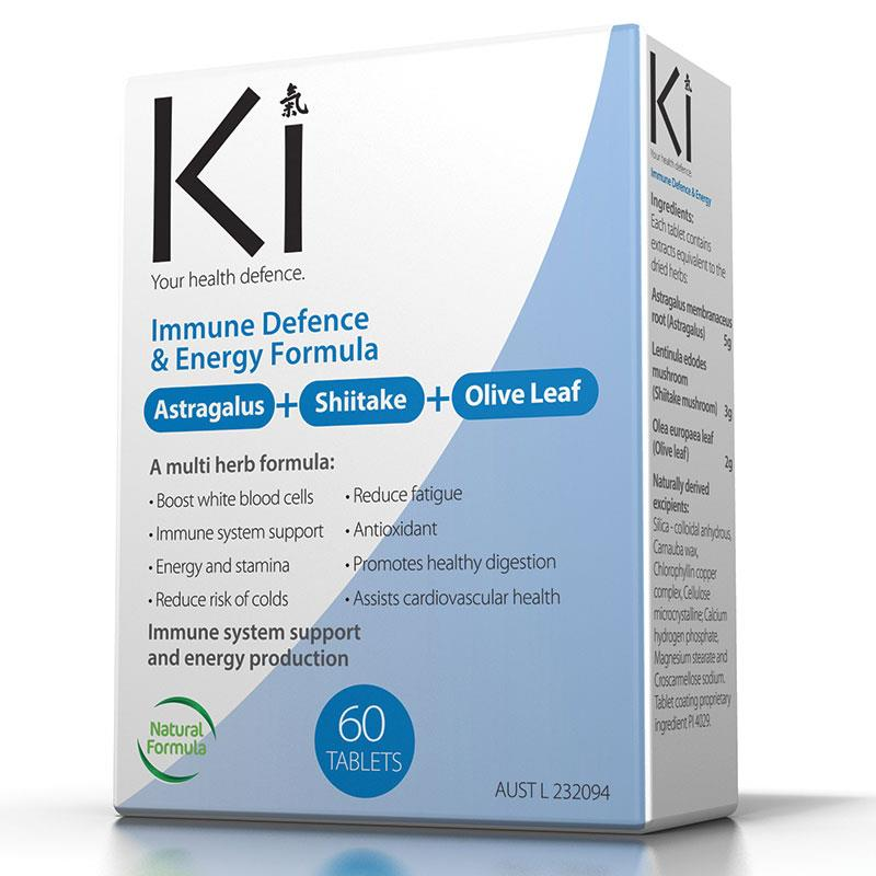 Ki Immune Defence and Vitality Formula Qty 30 Tablets