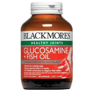 Blackmores Glucosamine Plus Fish Oil Capsules Qty 90