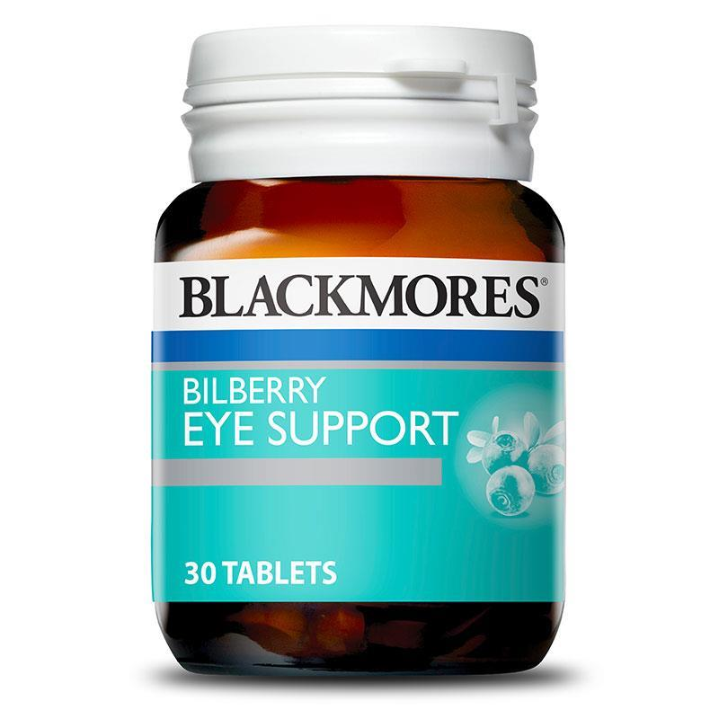 Blackmores Bilberry Eyestrain Relief Tablets Qty 30