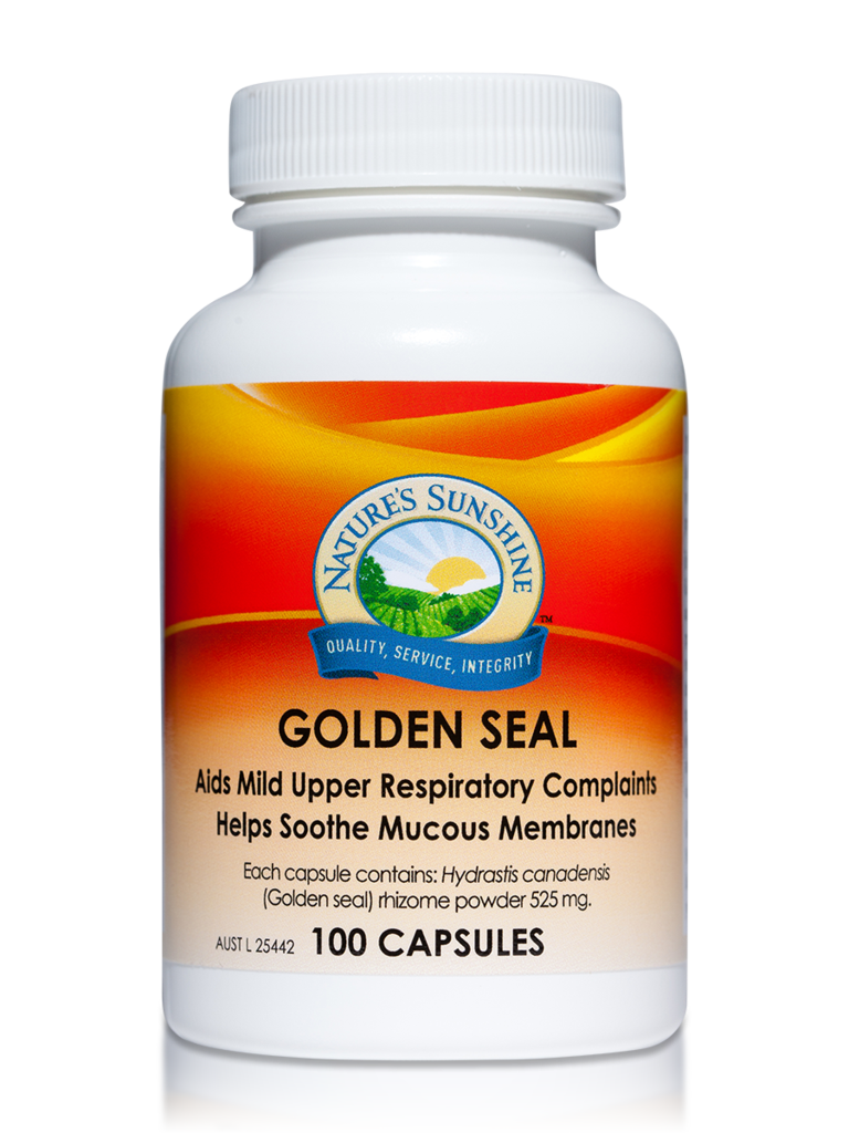 Nature's Sunshine Golden Seal Capsules Qty 100