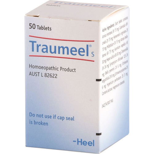 Heel Traumeel Tablets Qty 50