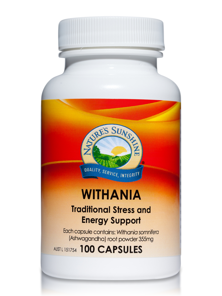 Nature's Sunshine Withania Capsules Qty 100