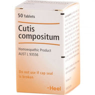Heel Cutis Compositum Tablets Qty 50