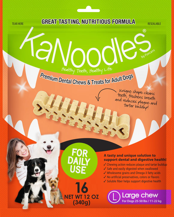 KANOODLES LARGE 340G 16 Pieces