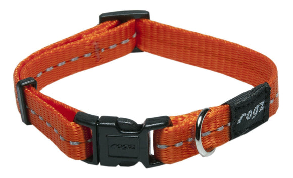 Rogz Classic Collar Orange Small
