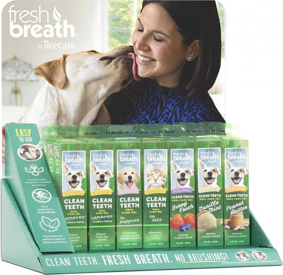 Fresh Breath Clean Teeth Gel Disp 21pc