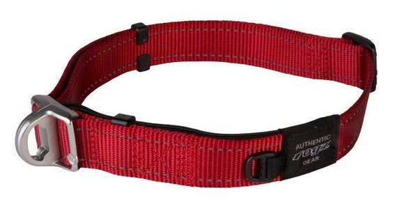Rogz Safety Collar Collar Red Lge