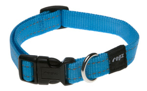 Rogz Classic Collar Turquoise Med