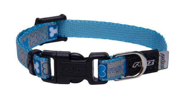 Reflecto Collar XSml Blue