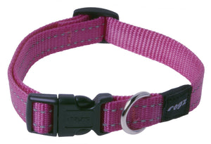 Rogz Classic Collar Pink Med