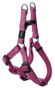 Rogz Step-In-Harness Pink Med