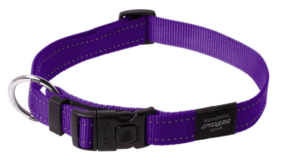 Rogz Classic Collar Purple XL