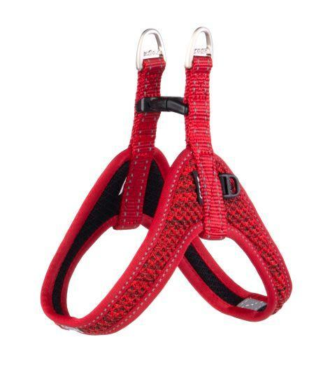 Rogz Fast Fit Harness Red Med
