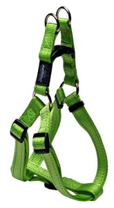 Rogz Step-In-Harness Lime Lge