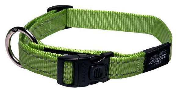Rogz Classic Collar Lime Med