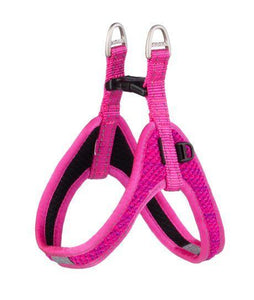 Rogz Fast Fit Harness Pink XSml