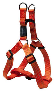 Rogz Step-In-Harness Orange Lge