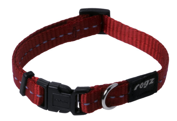 Rogz Classic Collar Red Small