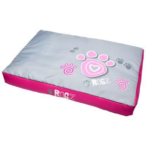 Flat Spice Pod Med Pink Paws