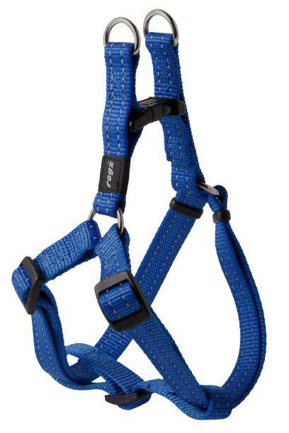Rogz Step-In-Harness Blue Med