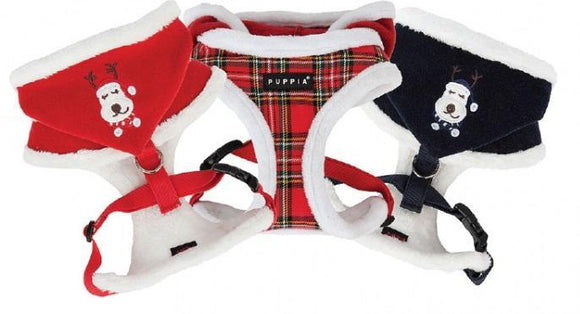 Rudolph Harness Checkered Red Sml