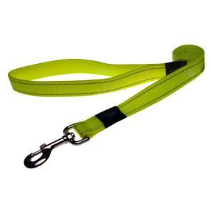 Rogz Classic Lead Dayglow Yellow Med