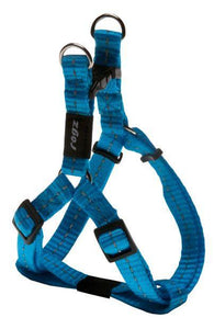 Rogz Step-In-Harness Turquoise SML