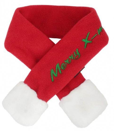 Santa Scarf Red Med