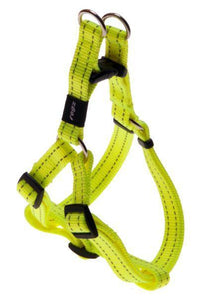 Rogz Step-In-Harness Dayglow Yellow Med