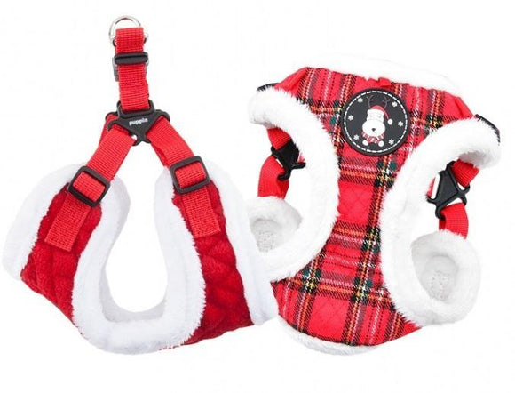 Blitzen Harness Chequered Red Med•