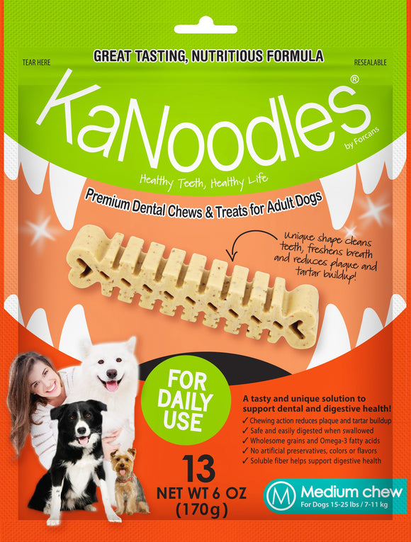 KANOODLES MEDIUM 170G 13 pieces