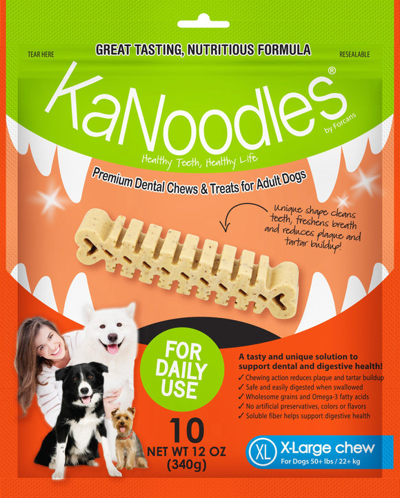 KANOODLES XLGE 340G 10 Pieces