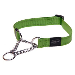 Rogz Obed Collar Collar Lime Lge