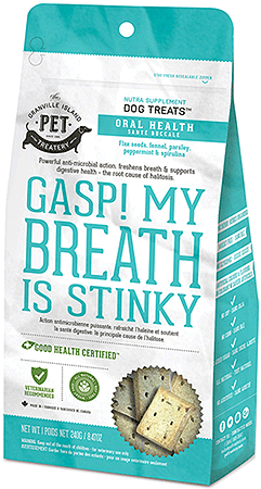 Granville Nutra Treats Gasp! My Breath is Stinky! - Perroow