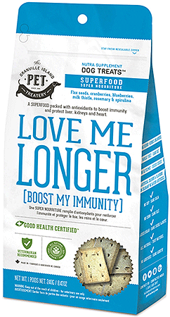 Granville Nutra Treats Love Me Longer (Boost My Immunity)! - Perroow