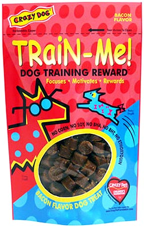 Crazy Dog Train-Me! Dog Training Rewards 4 oz - Perroow