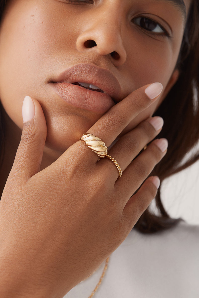Parisian Ring in Gold