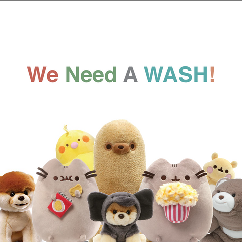 We Need A Wash - How to wash soft toys