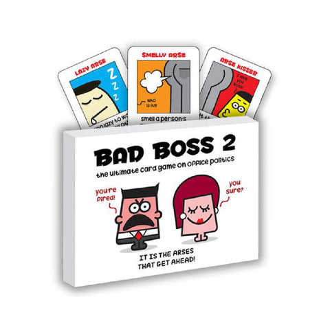 Bad Boss 2 Card Game | Toy Galeria Singapore