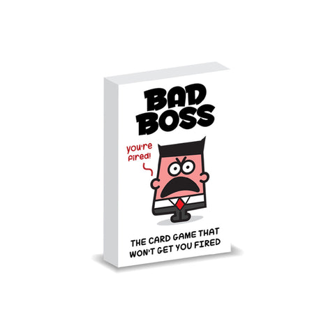 Bad Boss Card Game Singapore | Toy Galeria
