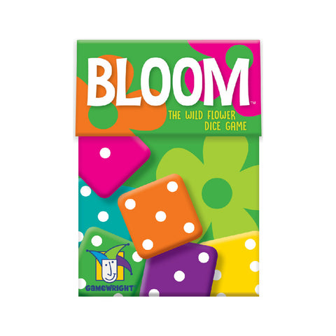 Gamewright Bloom | The Wold Flower Dice Game | Toy Galeria Singapore