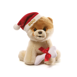 Gund Boo Christmas Plush 9"