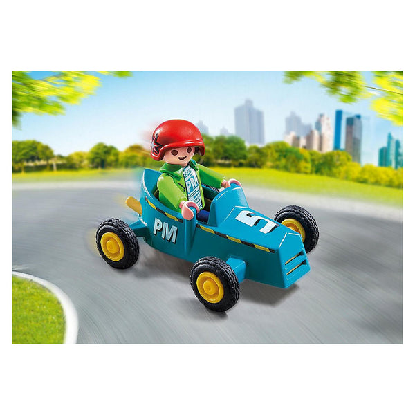 Playmobil Special PLUS - Boy with Go-Kart | Toy Galeria Singapore