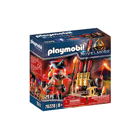 Playmobil Novelmore I - Burnham Raiders Fire Master | Toy Galeria Singapore
